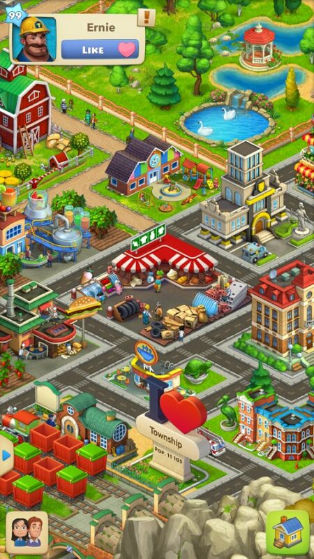 Скриншот Township — Город и Ферма для Android