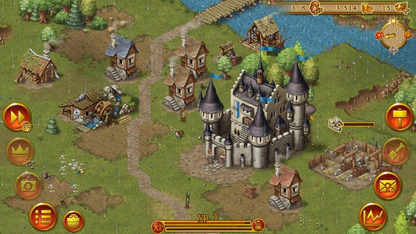Скриншот Townsmen Premium для Android