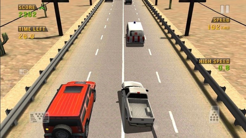 Скриншот Traffic Racer для Android