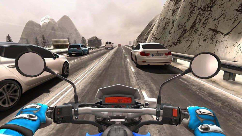 Скриншот Traffic Rider для Android