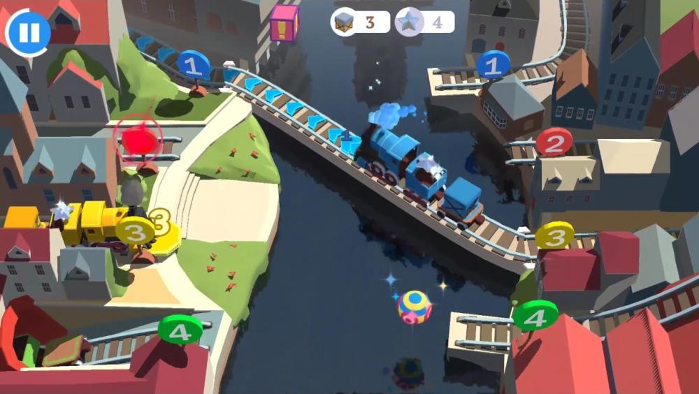 Скриншот Train conductor world для Android