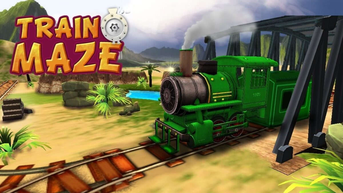Скриншот Train Maze для Android