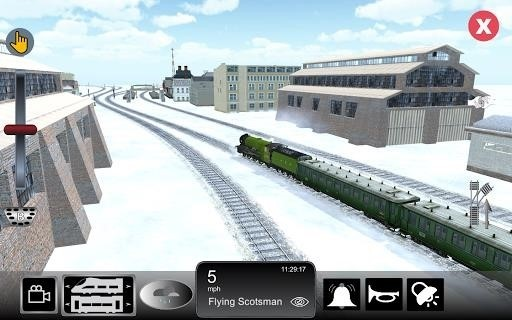 Скриншот Train Sim Pro для Android