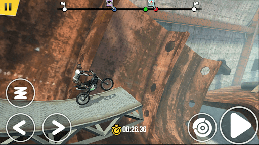 Скриншот Trial Xtreme 4 для Android