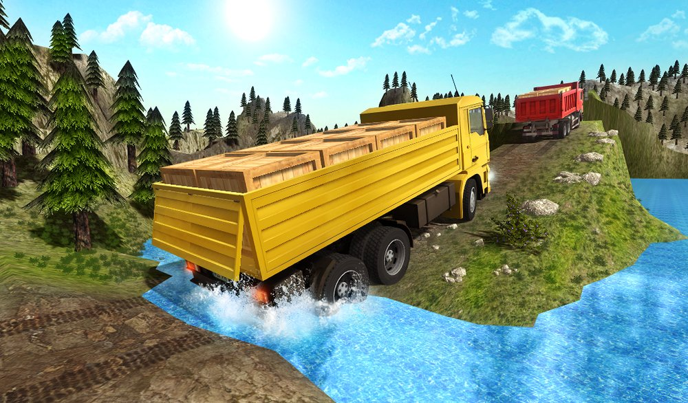Скриншот Truck driver extreme 3D для Android