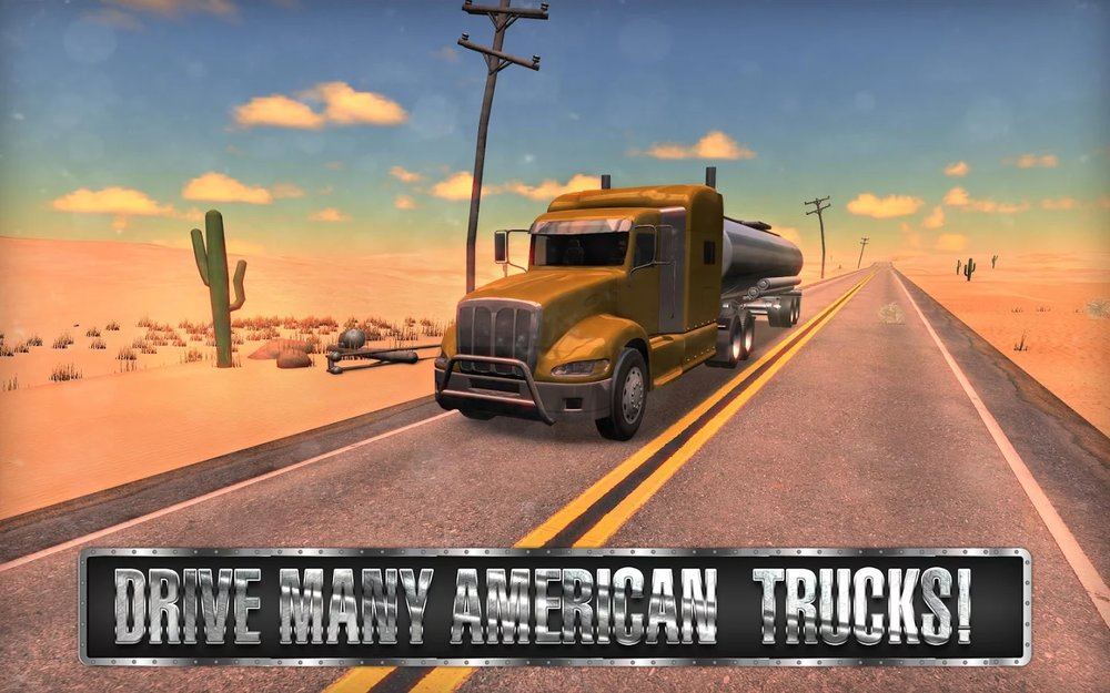 Скриншот Truck Simulator: USA для Android