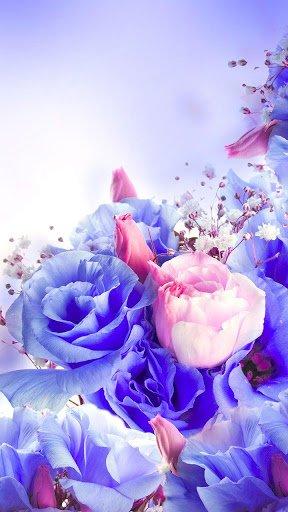 Скриншот Цветы Живые Обои для Android