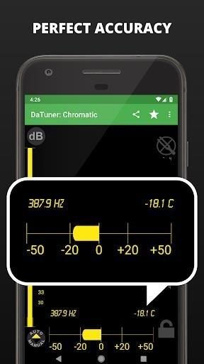 Скриншот Tuner DaTuner для Android