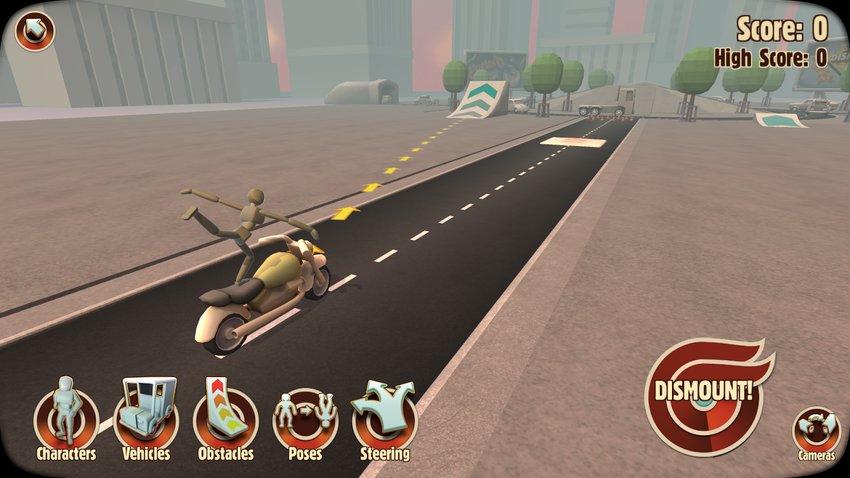 Скриншот Turbo Dismount для Android