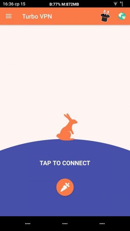 Скриншот Turbo VPN для Android