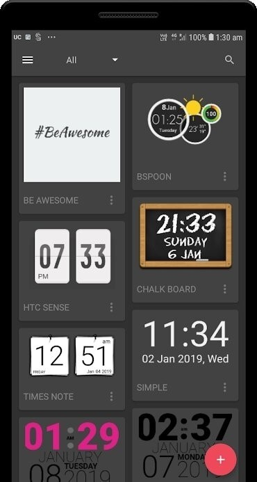 Скриншот UCCW Ultimate custom widget для Android