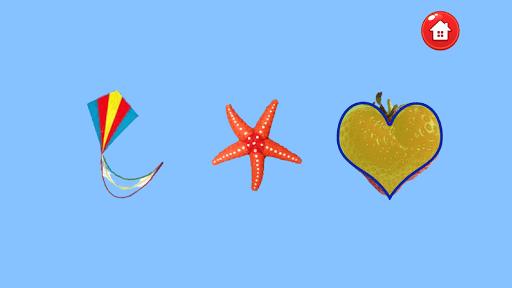Скриншот Учим формы и фигуры -для детей для Android