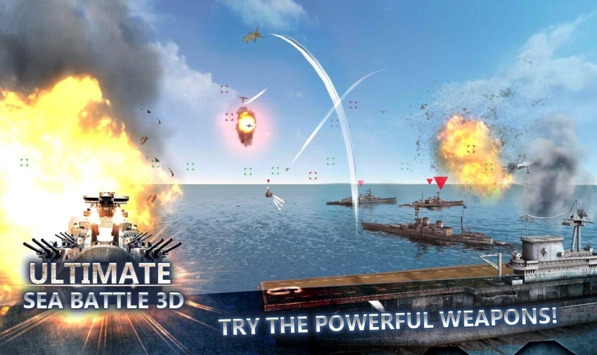 Скриншот Ultimate Sea Battle для Android
