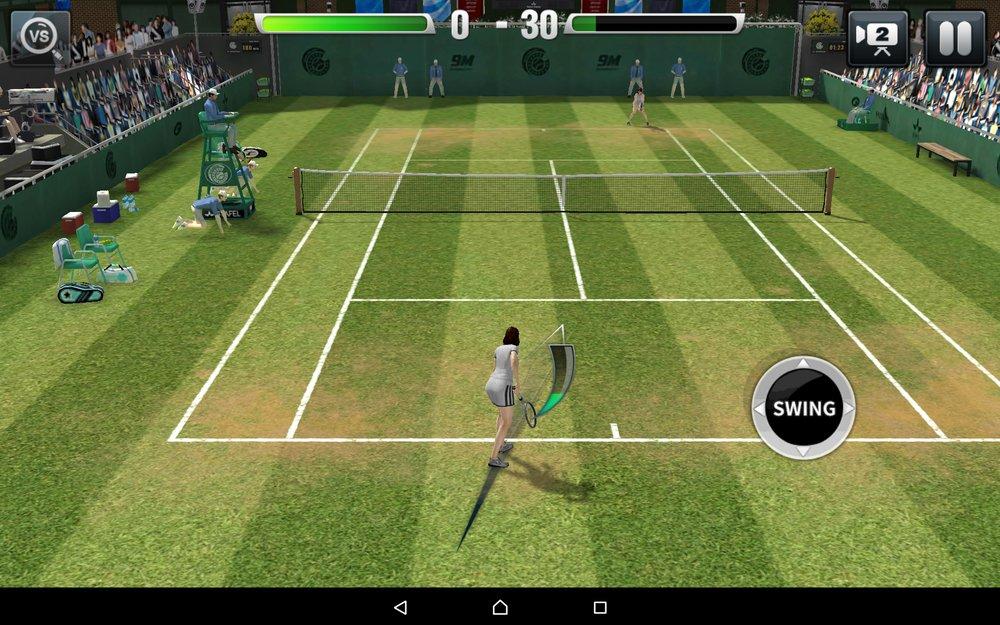 Скриншот Ultimate Tennis для Android