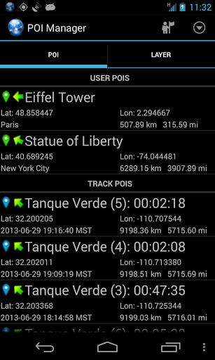 Скриншот Ultra GPS Logger для Android