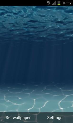 Скриншот Under the Sea Live Wallpaper для Android
