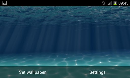 Скриншот Under the Sea Live Wallpaper для Android