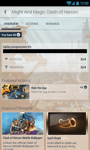 Скриншот Uplay для Android