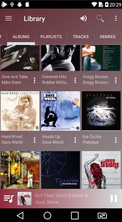 Скриншот USB Audio Player для Android