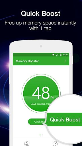 Скриншот Ускоритель памяти для Android