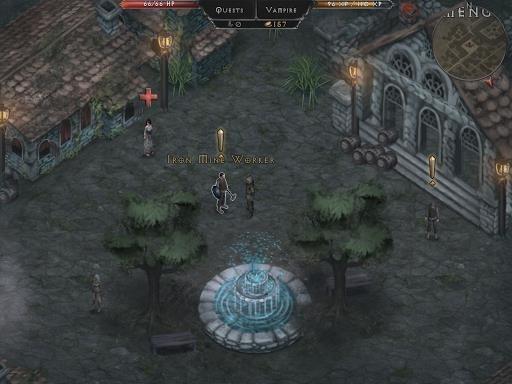 Скриншот Vampires Fall: Origins для Android