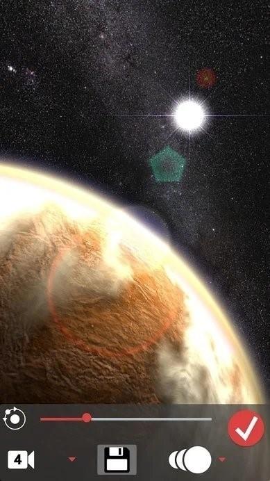 Скриншот Venus in HD Gyro 3D XL для Android