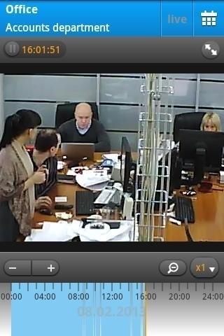 Скриншот Видеонаблюдение Ivideon для Android
