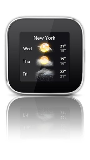 Скриншот Виджет погоды — Smart Extras для Android