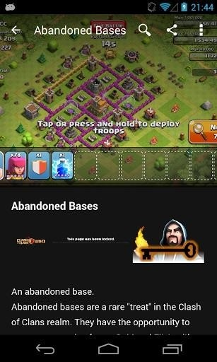 Скриншот Викия: Clash of Clans для Android