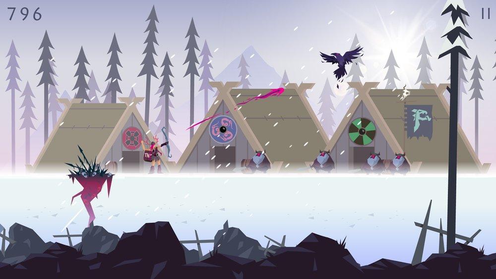 Скриншот Vikings: An Archers Journey для Android
