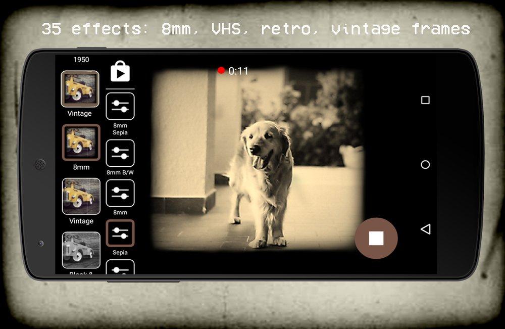 Скриншот Vintage Retro Camera для Android
