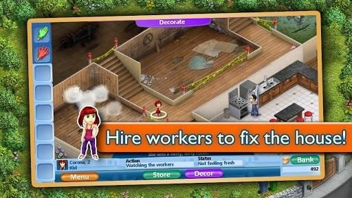 Скриншот Virtual Families 2 для Android