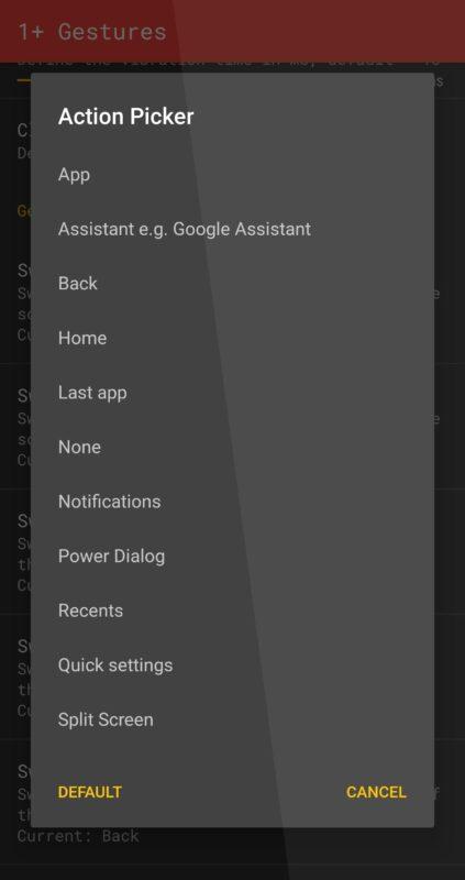 Скриншот Vivid Navigation Gestures для Android