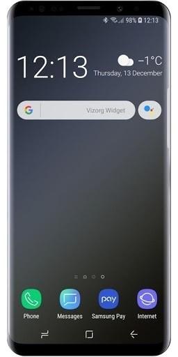 Скриншот Vizorg Widget для Android