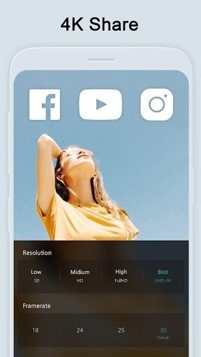 Скриншот VLLO (Vimo) для Android