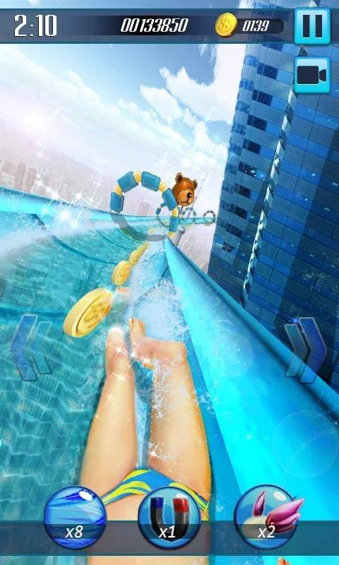Скриншот Водные горки 3D для Android