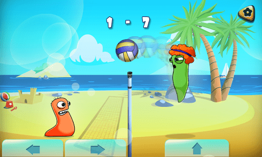 Скриншот Volleyball Hangout для Android