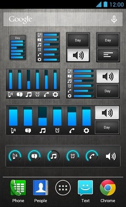 Скриншот Volume Ace для Android