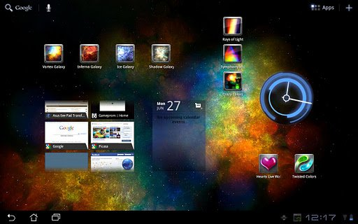 Скриншот Vortex Galaxy для Android