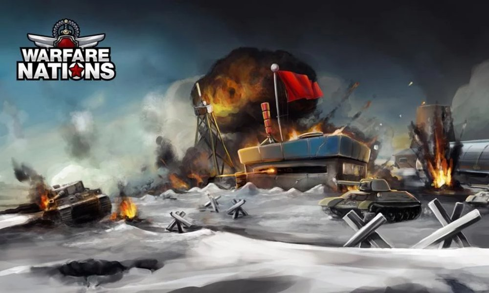 Скриншот Warfare Nations для Android