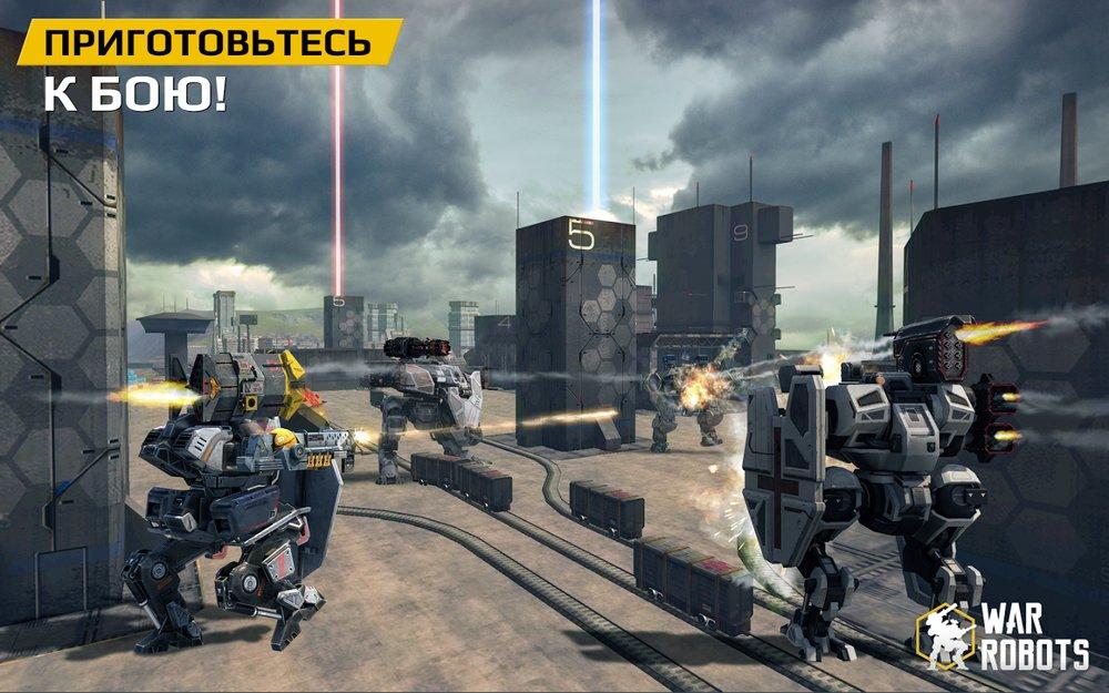 Скриншот War Robots для Android