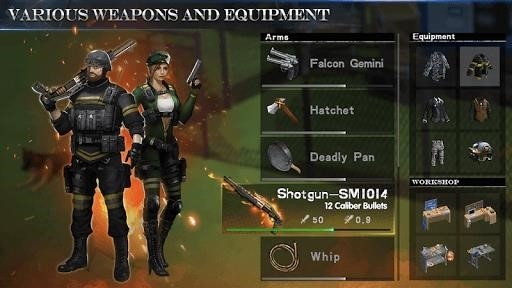 Скриншот WarZ: Law of Survival для Android