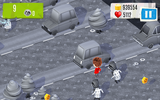 Скриншот Watch out Zombies! для Android