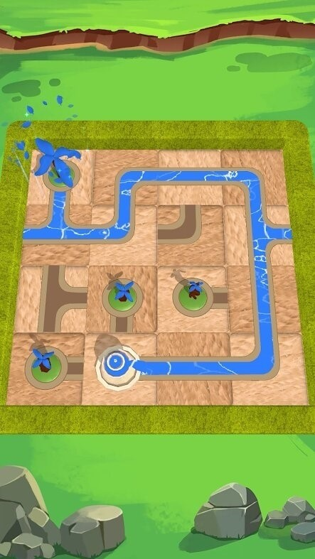 Скриншот Water Connect Puzzle для Android
