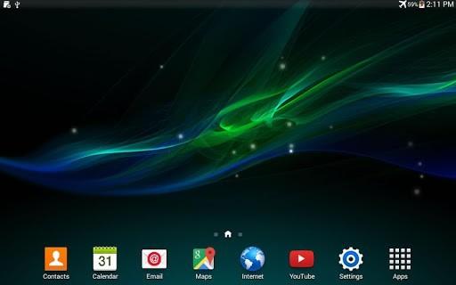 Скриншот Wave Z для Android