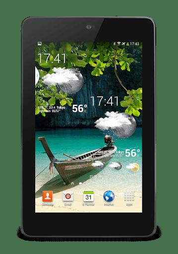 Скриншот Weather Animated Widgets для Android