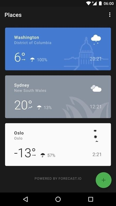 Скриншот Weather Timeline: Forecast для Android