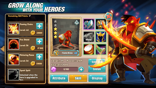 Скриншот We Heroes — Born to Fight для Android