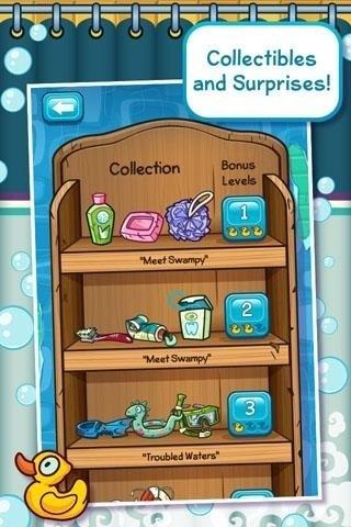 Скриншот Where's My Water для Android