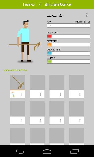 Скриншот Widget RPG для Android